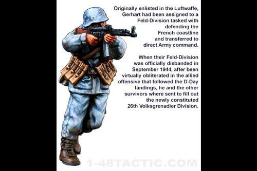 Grenadier Gerhart Kegler German Volksgrenadier Divisions