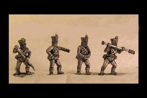 French Foot Artillery Crew Loading (in Bardin uniform)