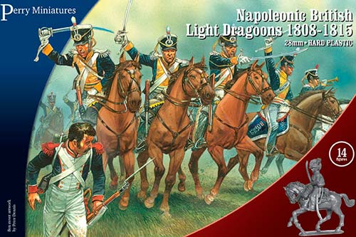 Napoleonic British Light Dragoons 1808-1815