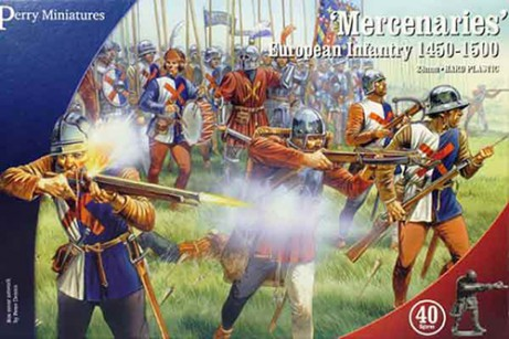 Mercenaries'' European Infantry 1450-1500'