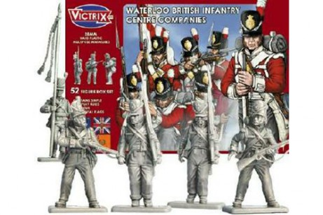 Waterloo British Infantry Centre Company