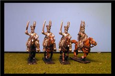 Uhlans with Sword Charging