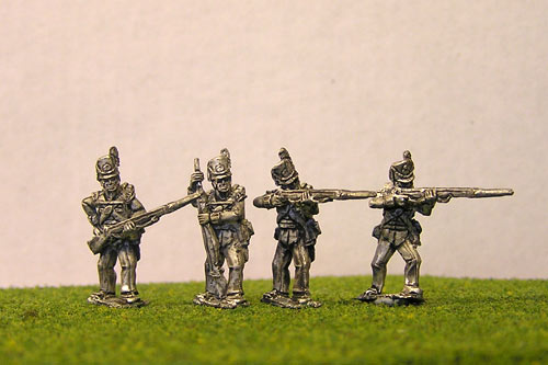 British/KGL Infantry Firing/Skirmish Belgic Shako Flank Co