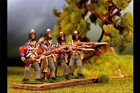 Infantry Firing/Skirmish Stovepipe Shako