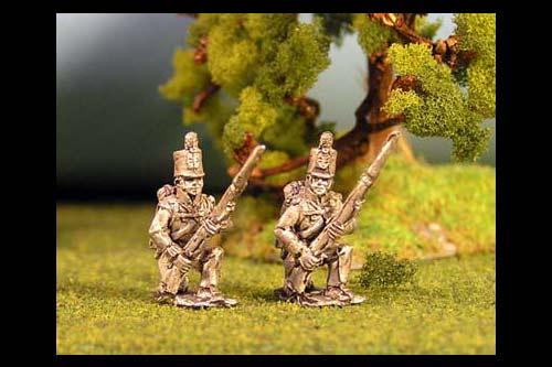 Infantry Kneeling Stovepipe Shako