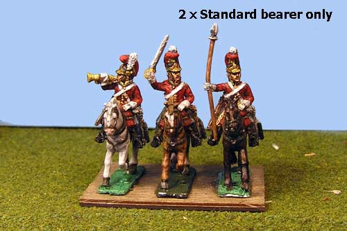 Lifeguards Standard Bearer (Household Cavalry)  x 2 (2 variants)