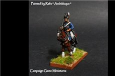 Peninsula Light Cavalry Sword on Shoulder in Tarleton