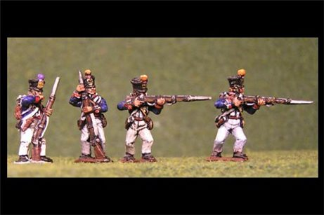 Fusiliers Firing Line / Skirmish 1