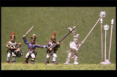 Line Infantry Command Advancing