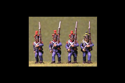 Voltigeurs/Grenadiers March Attack tuft plume