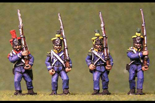 Voltigeurs/Grenadiers Marching tuft plume