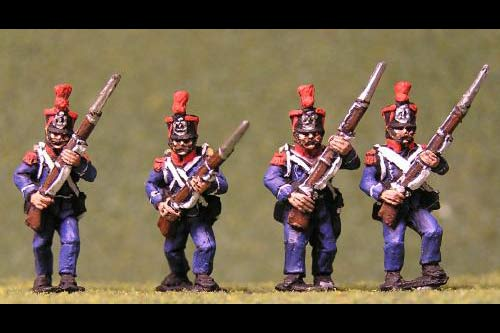 Voltigeurs/Grenadiers Advancing High Port tuft plume