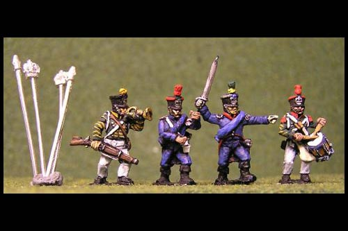 Light Infantry Command Advancing