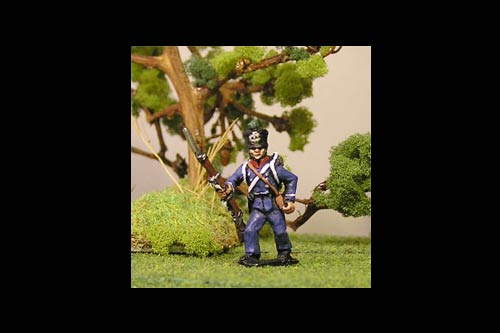 Sergeant Chasseurs Advancing