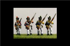 Young Guard Tirailleurs/ Voltiguers 1813-1815 Advancing Campaign Dress