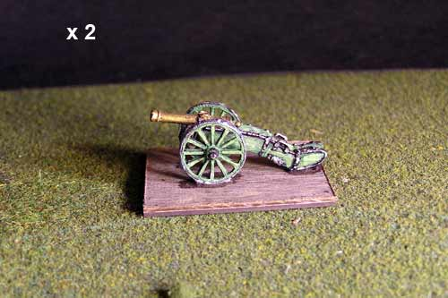 6lb French Gun x 2 models.