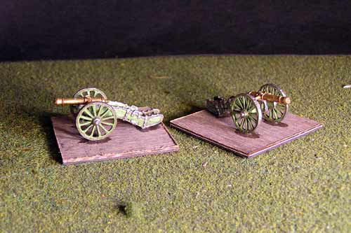 8lb French Gun x 2 models.