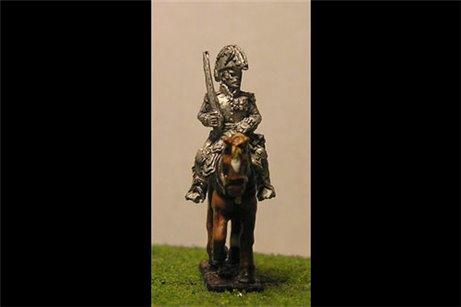 D'Erlon with sword on shoulder