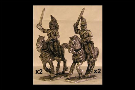 French Dragoons Charging 1 (x4)