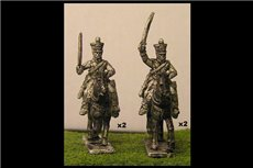 Chasseurs a Cheval Charging 1 (x4)