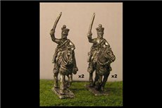 Chasseurs a Cheval Charging 2 (x4)