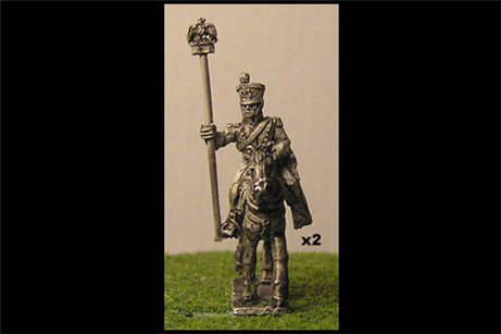 Chasseurs a Cheval Eagle Bearer (x2)