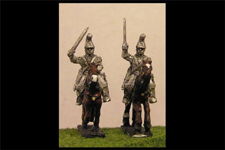 French Carabiniers Charging 1 (x4)