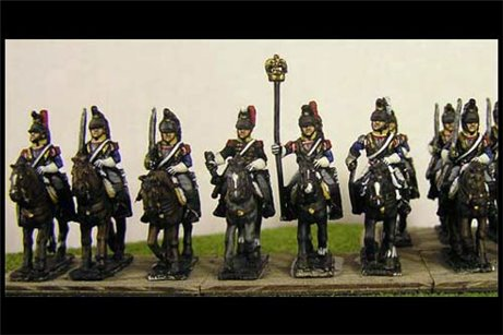 French Cuirassiers at Rest x8