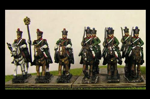 Chasseurs a Cheval At Rest x8