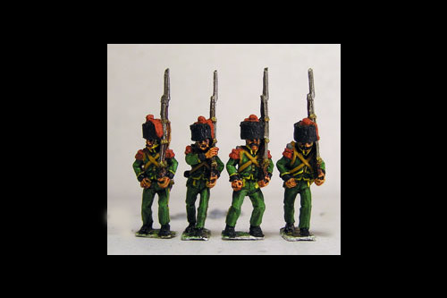 2nd Rgt Grenadiers Marching in Colpack & Epaulettes.
