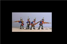 Orange Nassau Marching (24figures, 12 fusiliers, 7 elites including sergent & 5 command)