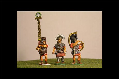 Commands: 2 Centuriones, 2 Cornicen, 2 Signifer. 107BC to 31BC or AD40
