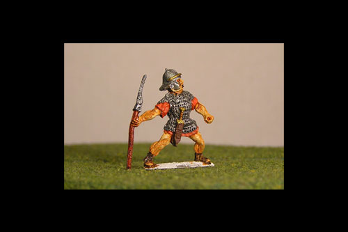 Legionaries Throwing Pilum, Coolus helmet (New pose)