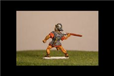 Legionaries Thrusting Pilum above shoulder, Coolus helmet (New pose)