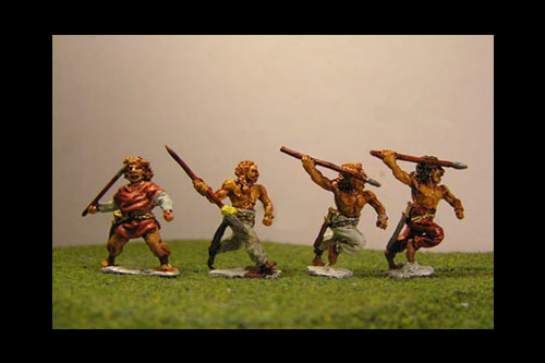 Light Infantry javelinmen (3 variants)