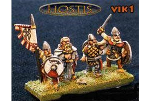 Viking Command (8 figures per pack)