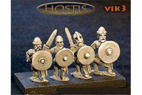 Viking Bondi with swords (8 figures per pack)