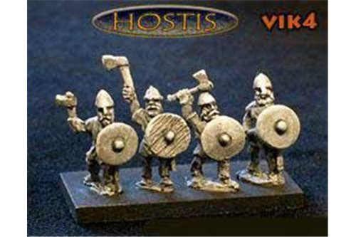 Viking Bondi with axes (8 figures per pack)