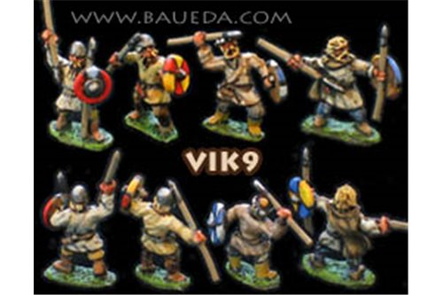 Viking scouts on foot or Finns