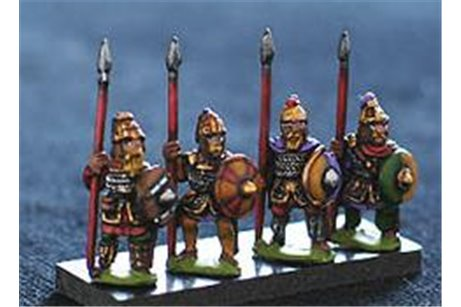 Dismounted Lombard Knights