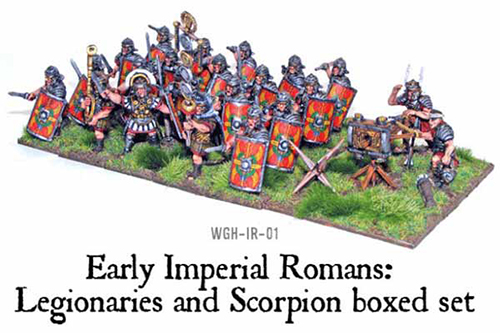 Imperial Roman Legionaries (20+Scorpion)