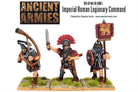 Imperial Roman Legionary Command Pack (3)