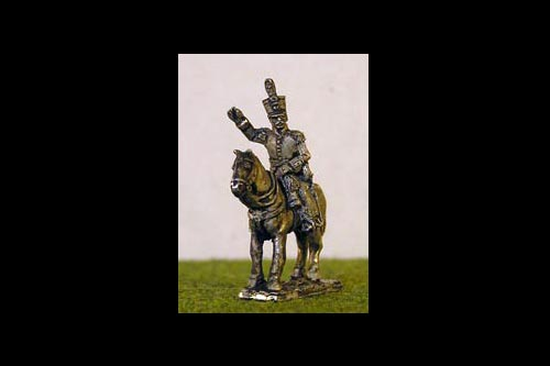 Mounted Dutch Colonel 2  x 2 models with horses