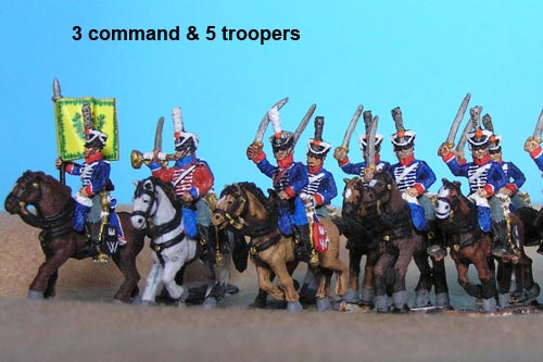 4th Dutch Light Dragoons Charging