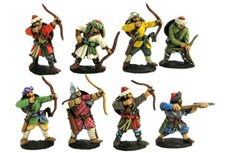 Muslim archers and crossbowman (6 variants)