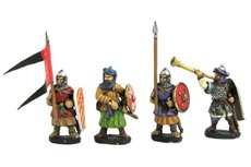 Muslim Infantry, Command Group (3 variants)