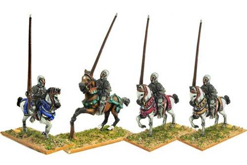 Light cavalrymen with Sallet.