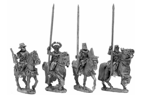Teutonic Grand Master, command group - four variants.