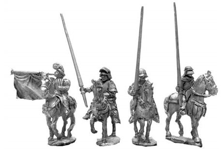 Burgundian Command Group (4 variants)
