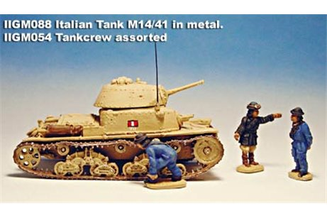Tank crew, assorted, with overal model 41 and leader jacket, in various positions.
